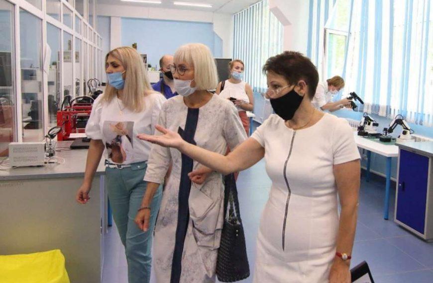 Надежда Школкина посетила с рабочим визитом Алексин