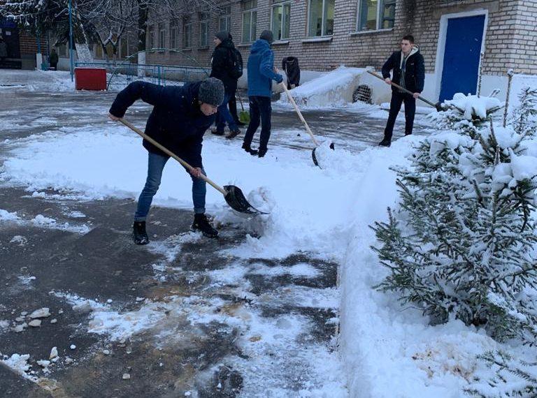 Снежный десант удался!